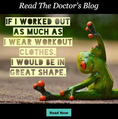Read The Doctor's Blog