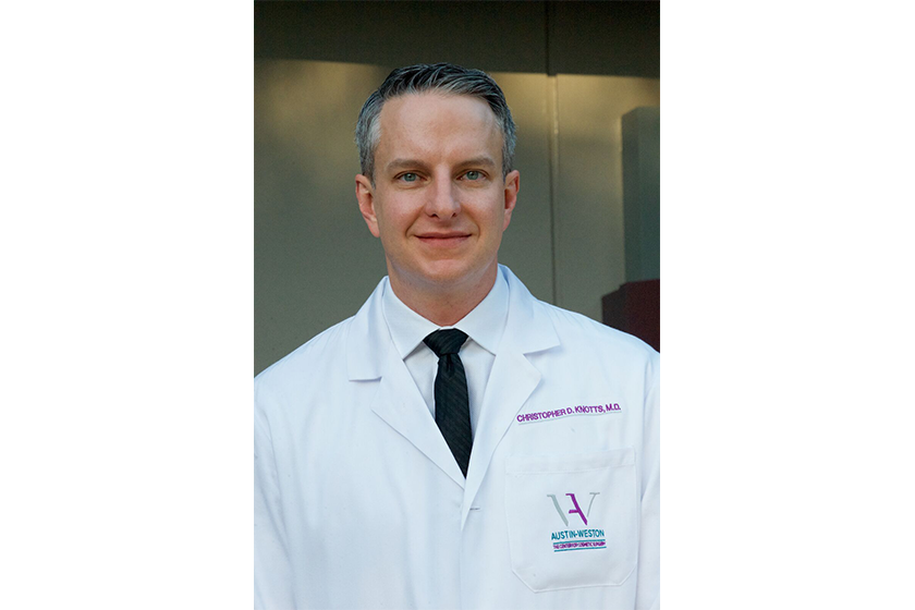 Christopher Knotts Md Facs Plastic Surgeon In Reston Va