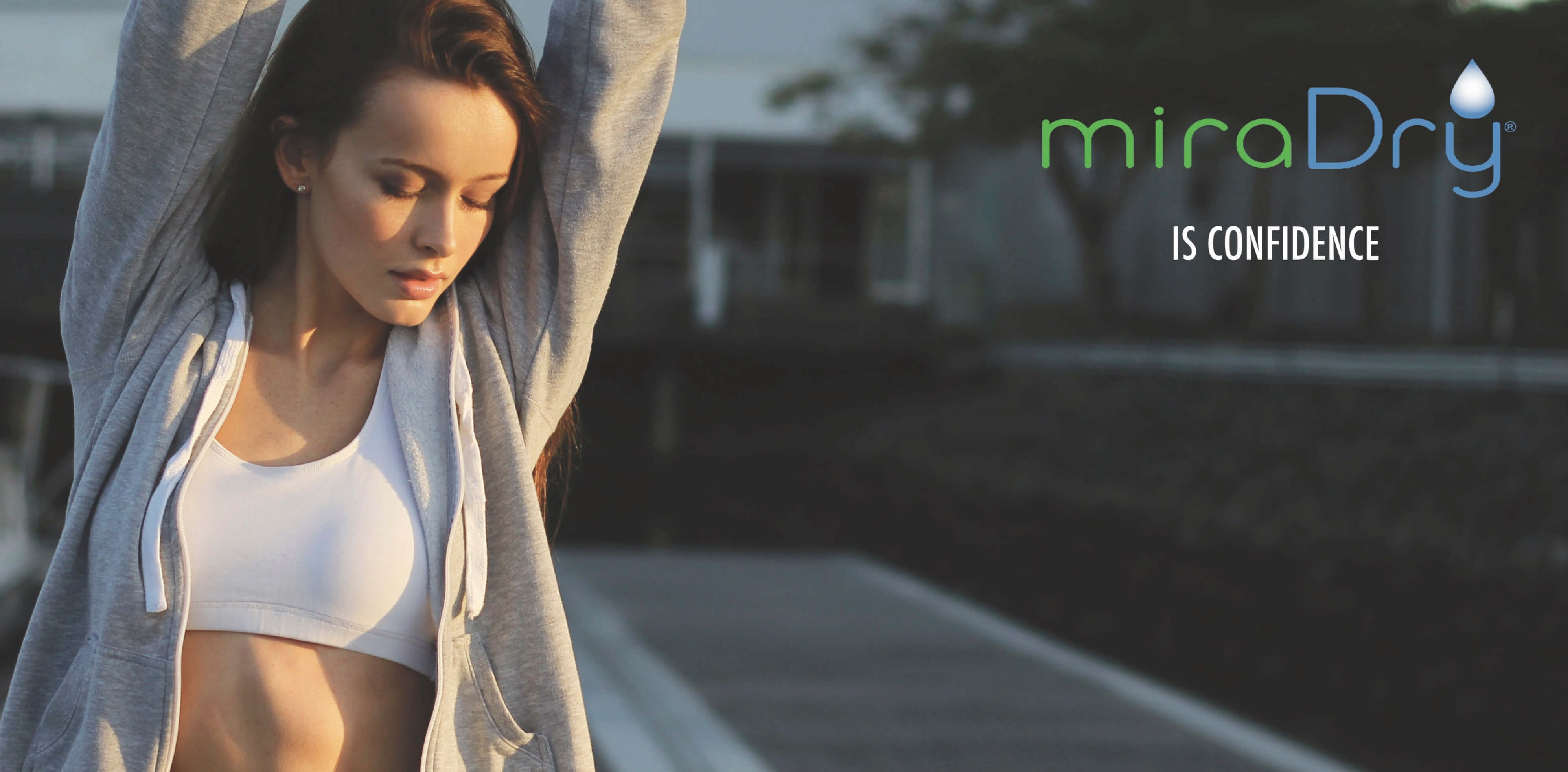 Stay dry with miraDry - No downtime, Non-invasive & FDA approved, miraDry is your perfect solution for any unwanted or excess sweat!