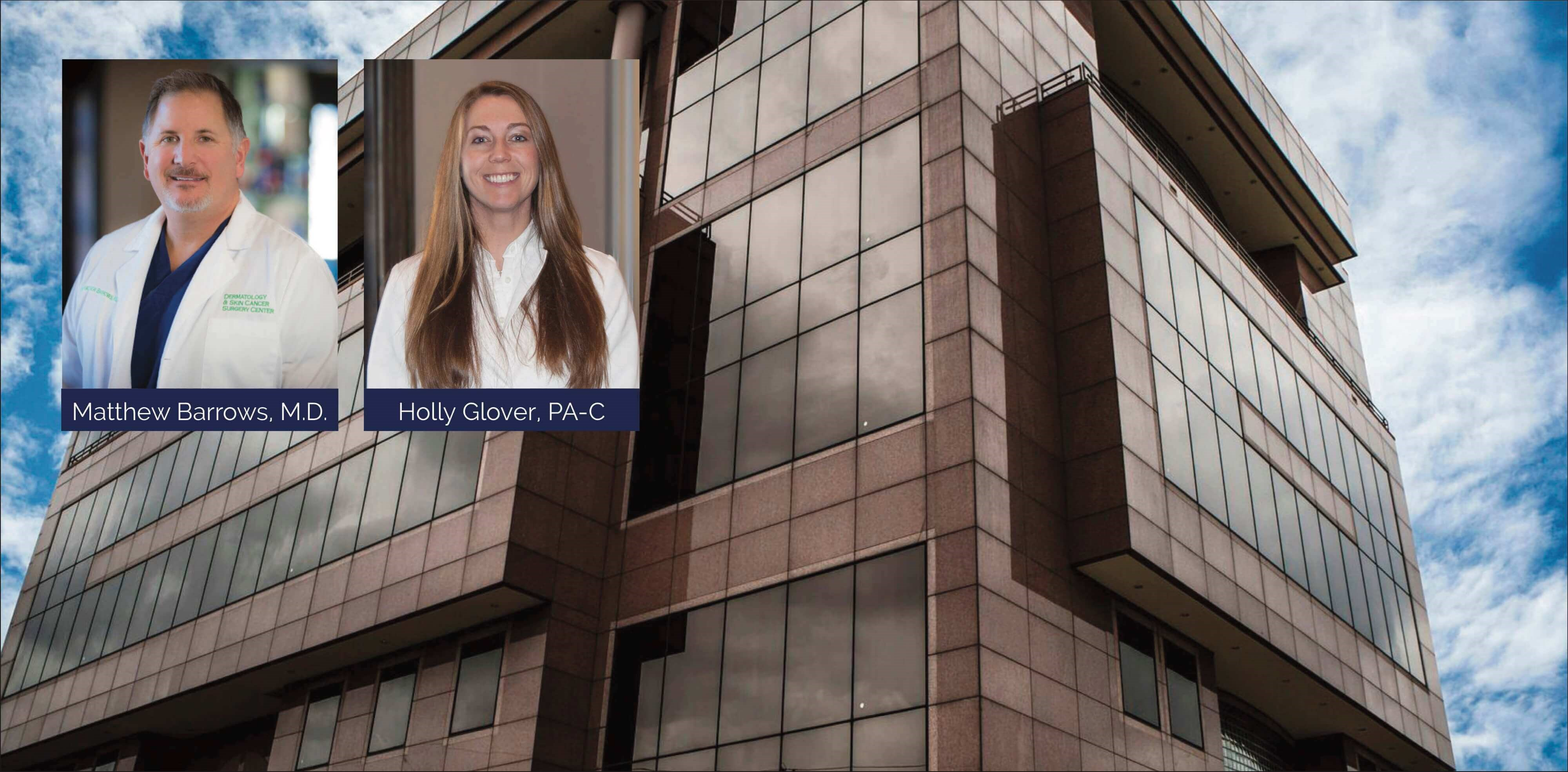 We're pleased to welcome Holly Glover, PA-C - Holly is now seeing patients at our Dallas & McKinney locations. We are proud to have her part of the Dermatology & Skin Cancer Surgery Center team.