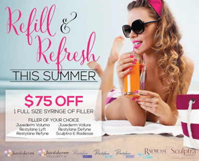Refill & Refresh This Summer