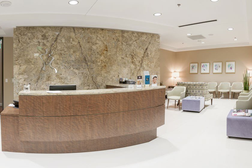 Reception Area – Dallas, TX