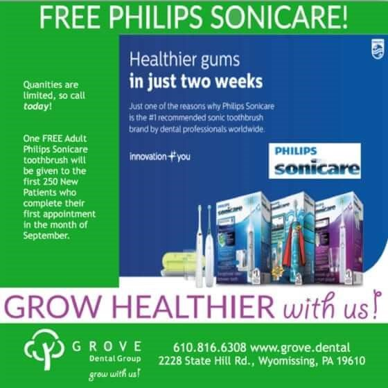 Free Sonicare Toothbrushes