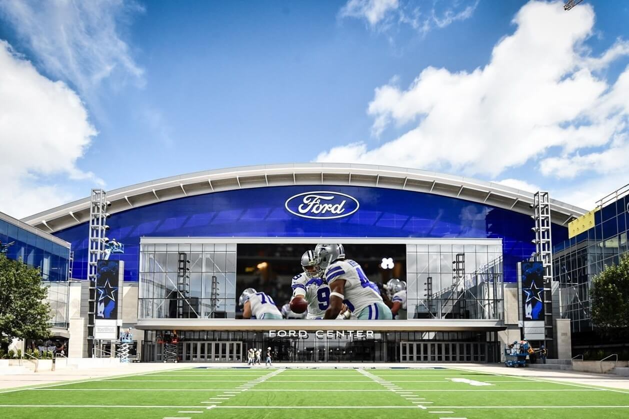 Image of Dallas Cowboy's Ford Stadium