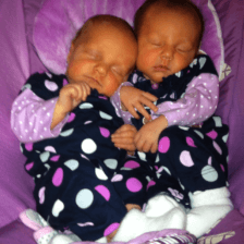 The Polka Dot Twins