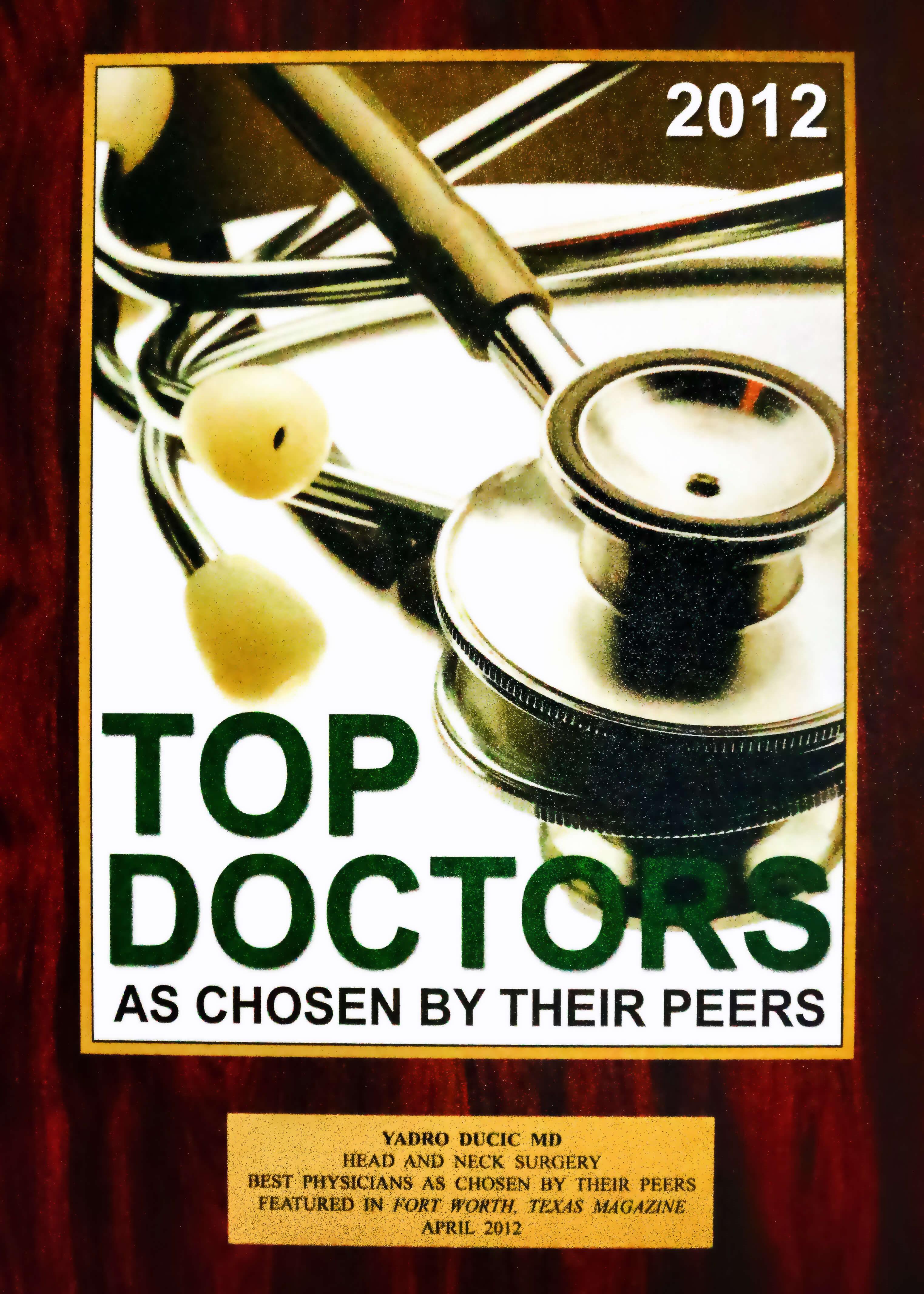 Dr Yadro Ducic Otolaryngologist