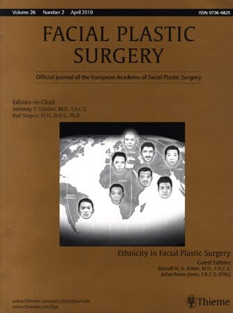 Facial Plastic Surgery Journal
