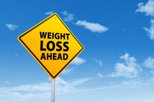 yield sign for facelift and weight loss
