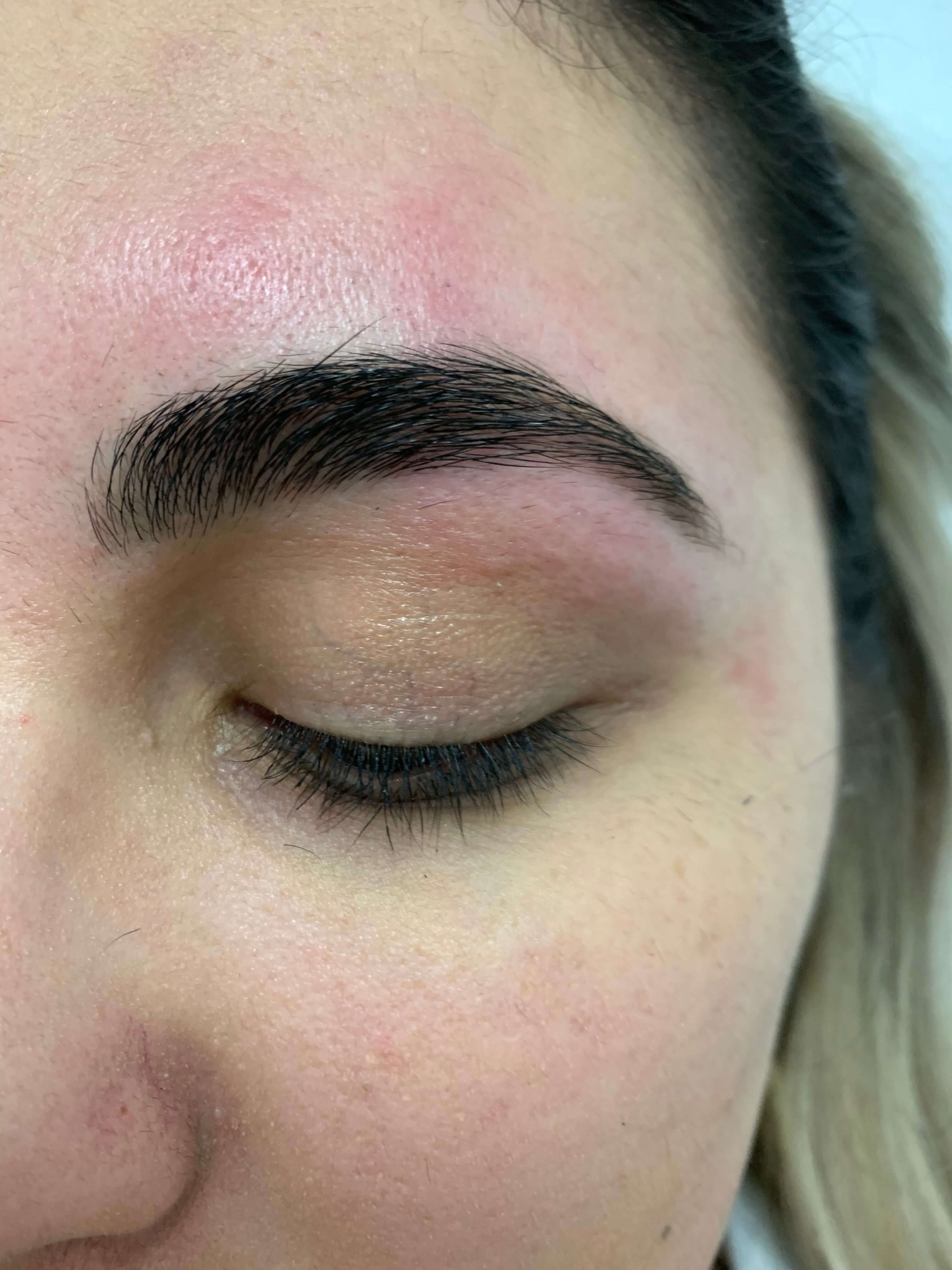 Brow Waxing After