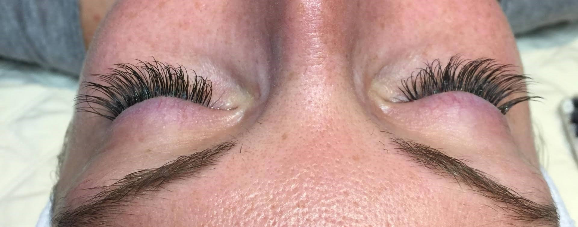 Eye lash extensions After