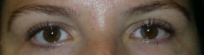 Fabulous Eye Lash Perm Results After