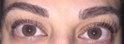 Lash Lift and Tint After