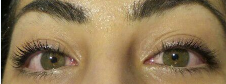 Eye lash perm After