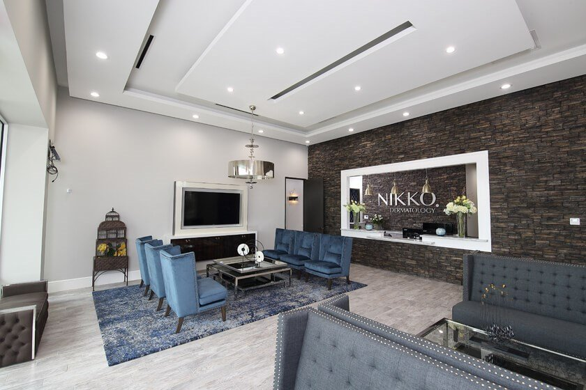 Nikko Derm Reception Area