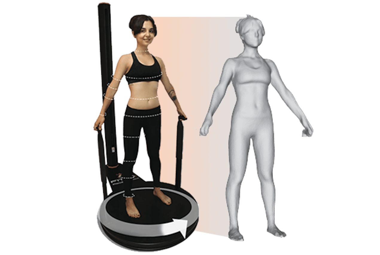 Fit 3D Infrared Full Body Scan Before