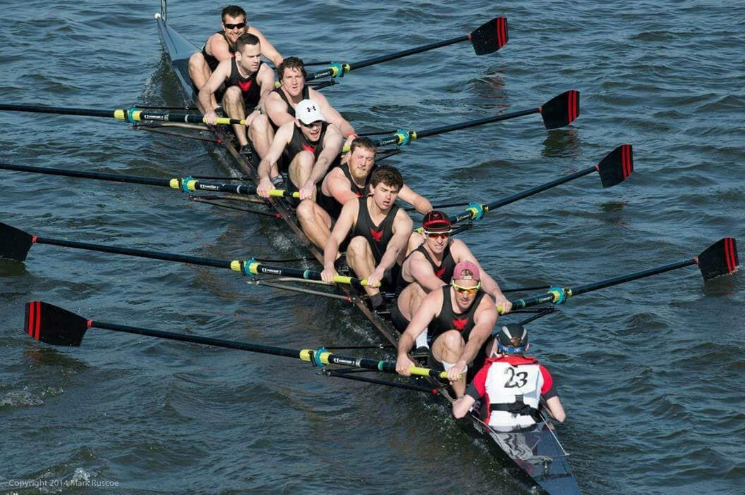 Photo courtesy of Alex Robertson, who appeared in rowing scene of the movie,