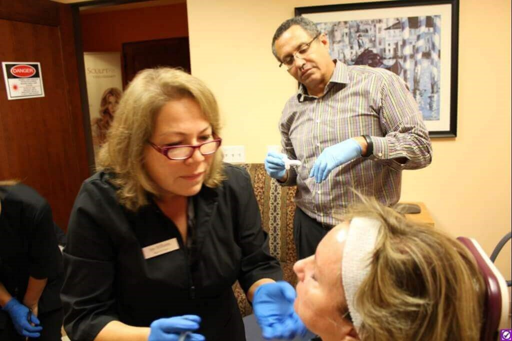 Plastic Surgery RN Training Day, Injectables