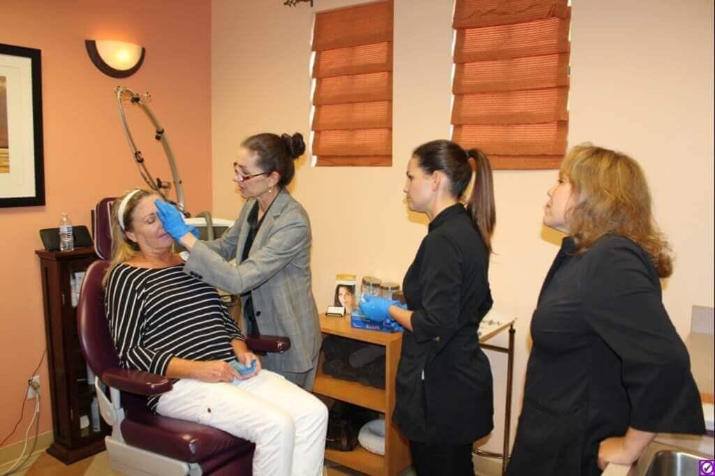 Plastic Surgery RN Training Day, Botox