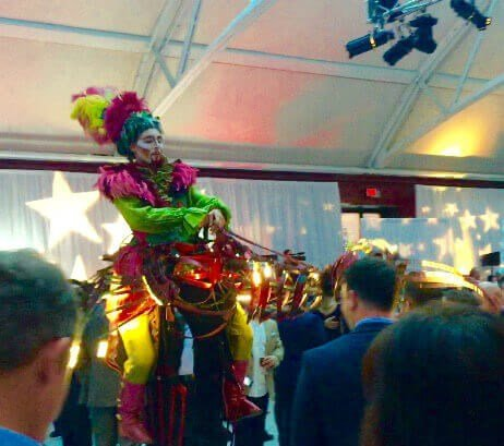 Cirque de Soleil entertains ASAPS members in Montreal