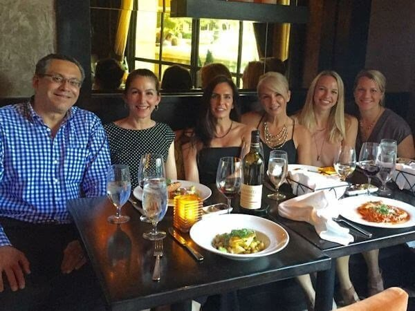 Dr. Francisco Canales and Dr. Heather Furnas with Tara, Keri, Abby, and Carolyn