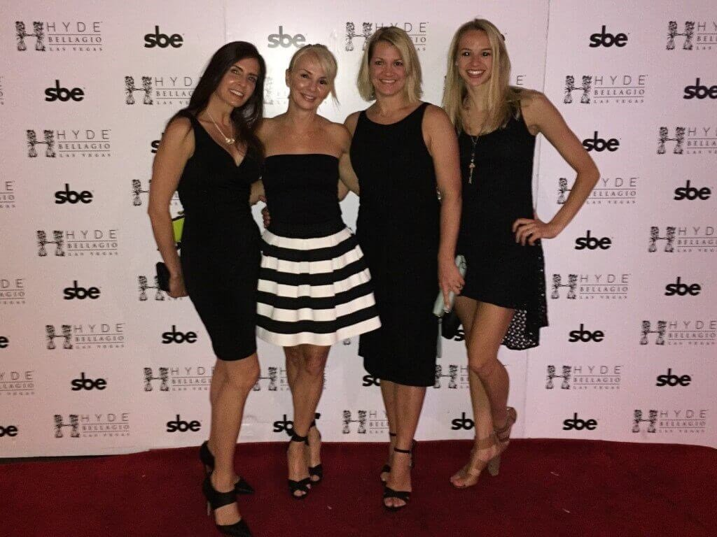 Plastic Surgery Associates of Santa Rosa's Tara, Keri, Carolyn, and Abby