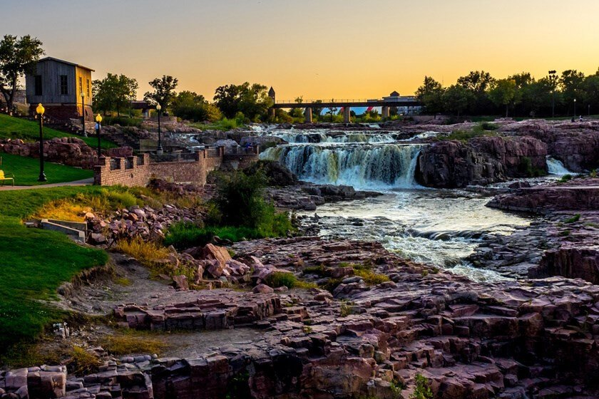 Visiting Sioux Falls